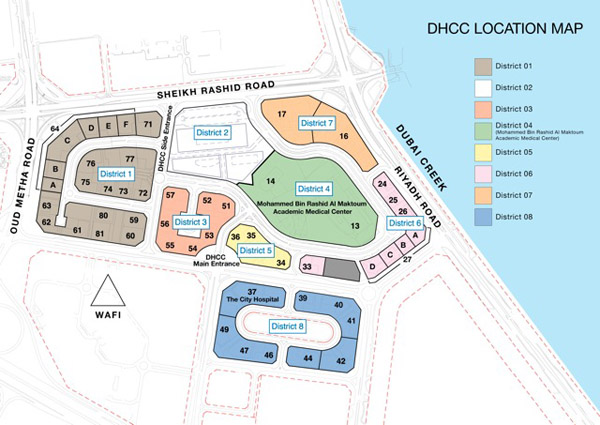 LCAS Location Dubai
